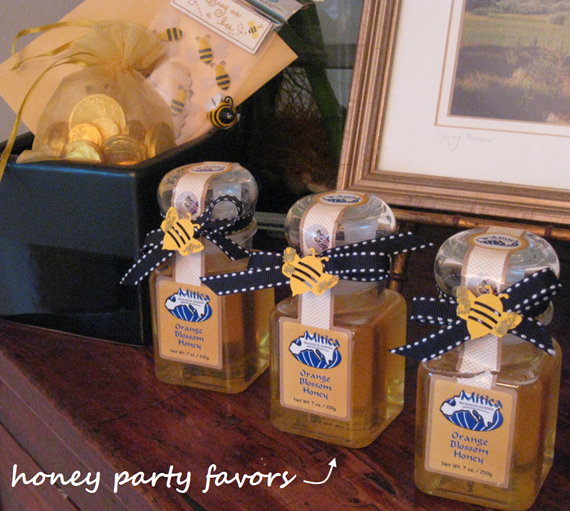 Bee Baby Shower Honey Party Favors