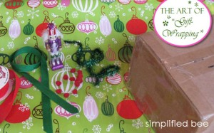 gift wrap how to // simplified bee