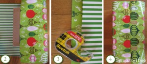 wrapping paper how to // simplified bee