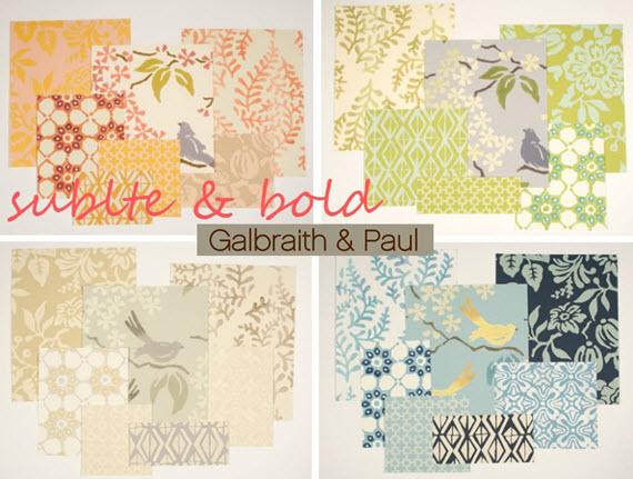 Galbraith and Paul handmade fabrics