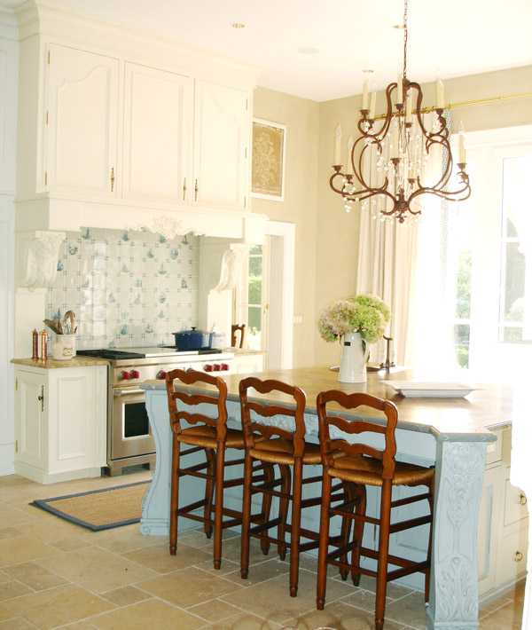 French inspired kitchen design by beverly ellsley for Inspired kitchen design