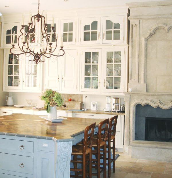 French Inspired Kitchen Design By Beverly Ellsley