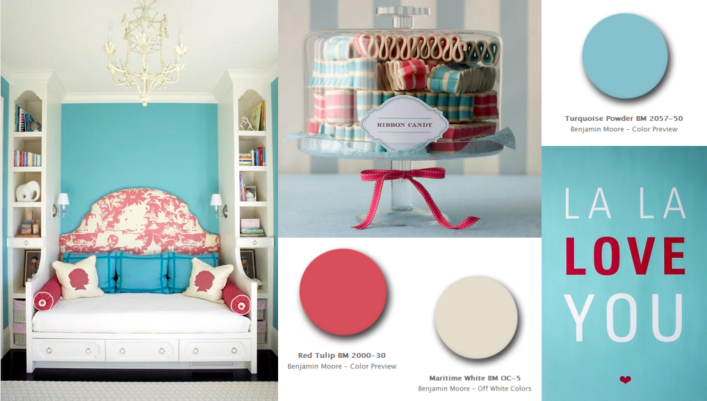 Red, White And Blue Color Palettes For July 4th Decorating