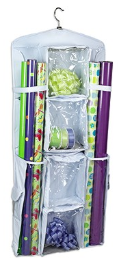 Organizing - 5 Gift Wrap Storage Solutions - Simplified Bee