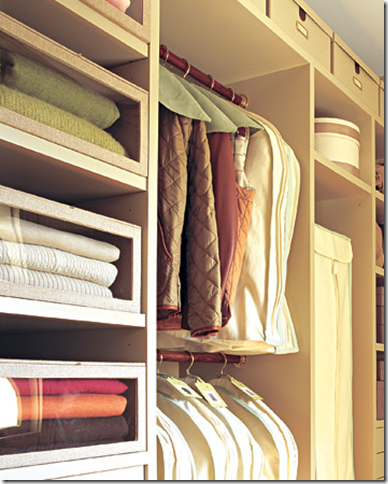 Declutter martha stewart closet