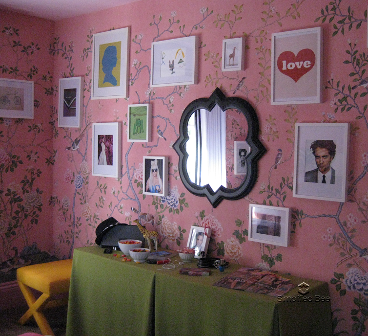 ELLE DECOR Designer Showhouse Tween Girls Bedroom By
