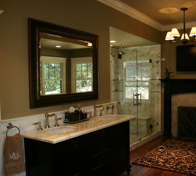 Simply stunning luxurious master bathroom design for Stunning master bathrooms