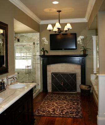 Simply Stunning Luxurious Master Bathroom Design
