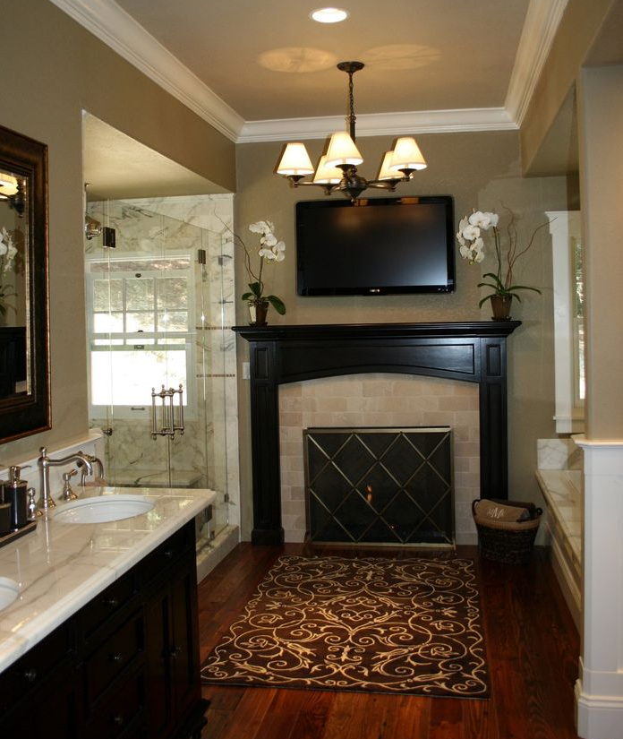 Simply stunning luxurious master bathroom design for Simply bathrooms