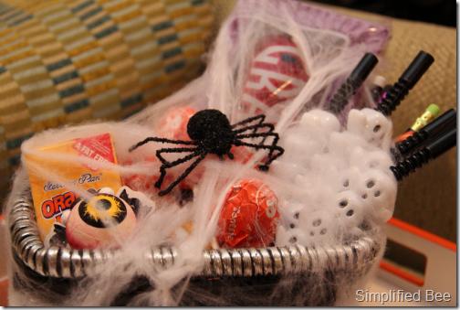 Halloween Boo'd Basket