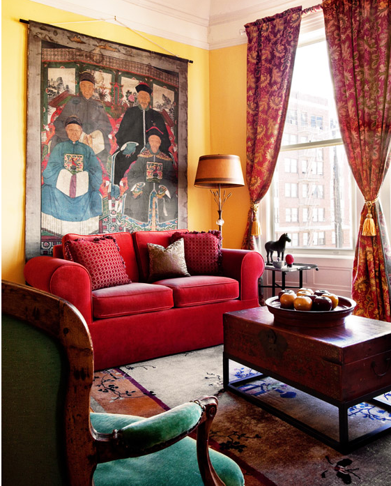 San Francisco Indochine Style: Leslie Lundgren Design ...