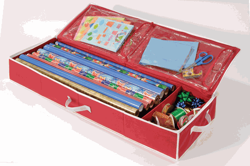 Organize.comu0027s Underbed Storage Chest For Gift Wrap Is An Affordable  Solution For Those With Limited Storage Options. Having A Pair Of These  Storage Chest ...