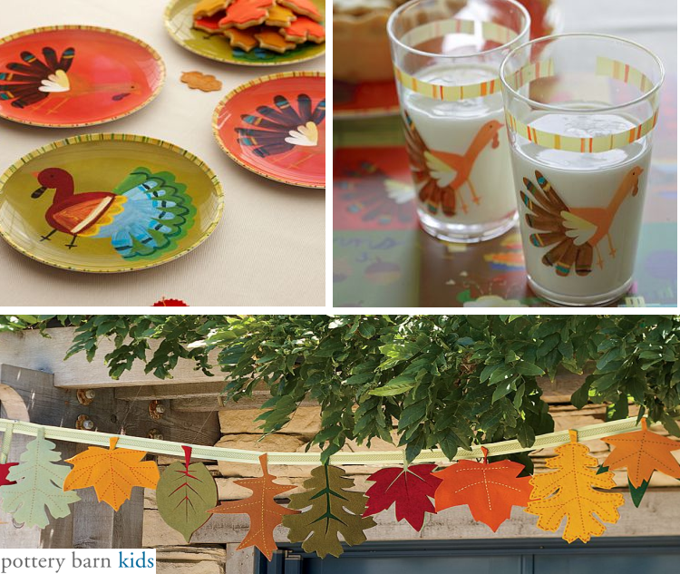 Thanksgiving - Decorating Ideas for the Kids' Table | Simplified ...