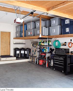 overcoming procrastinating and garage organization steps simplified bee. Black Bedroom Furniture Sets. Home Design Ideas