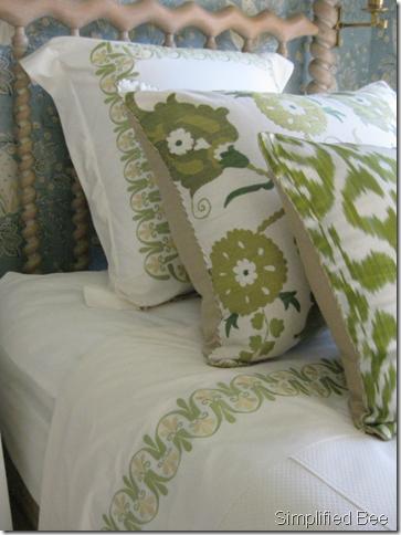 Elle decor designer showhouse san francisco guest bedroom for Elle decoration bed linen