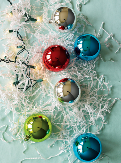 Traditional Glass Christmas Tree Ornaments : Sneak peek west elm holiday simplified bee