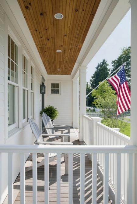 Home tour eco friendly healthy home design simplified bee - Veranda schaukel ...