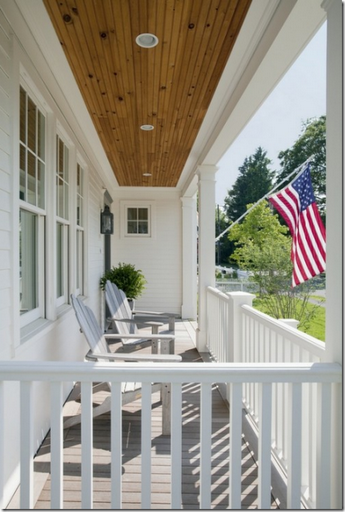 all-american front porch green