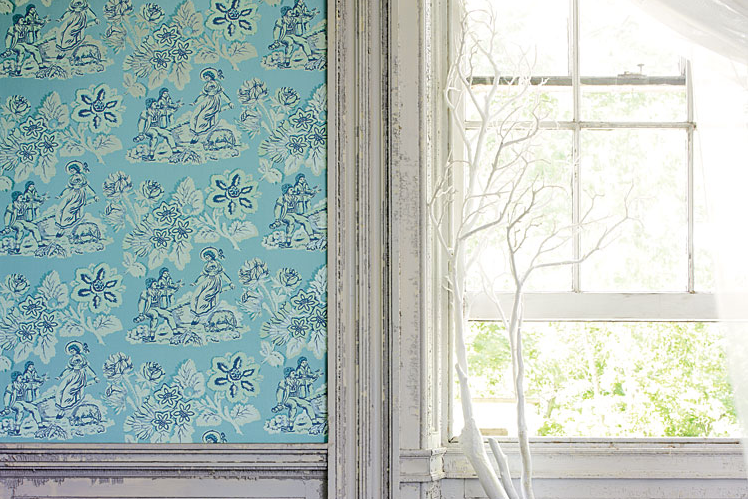 Wallpaper By Anna French Thanks Erin At House Of Turquoise For This Fantastic Find It Was Annas Vivid Colors And Dramatic Patterns That Caught My