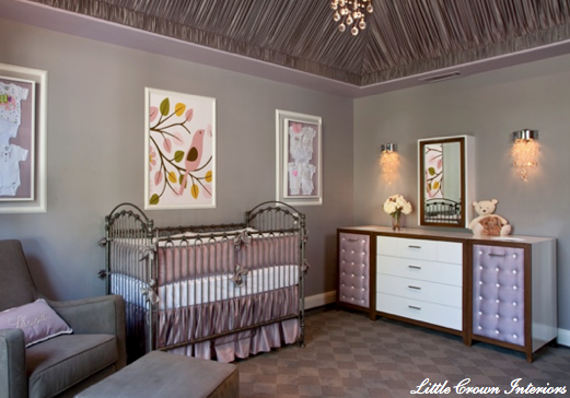 Girly, Girl Baby Nursery Rooms | Simplified BeeSimplified Bee