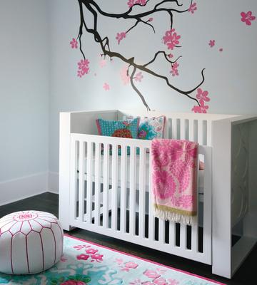 Girly, Girl Baby Nursery Rooms | Simplified BeeSimplified Bee