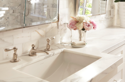 Timeless Master Bathroom By Scavullodesign Simplified Bee