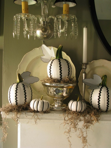 black and white pumpkins eddie ross ric rac