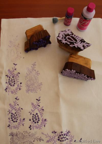 diy woodblock printing 3