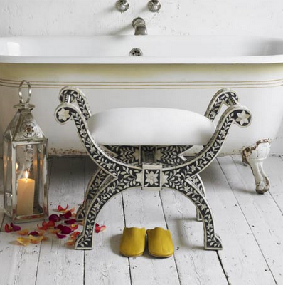 This Traditional Style Stool Is One Of My Favorites And Would Be Perfect In A Bath Living Room Or Pair At The Foot Bed