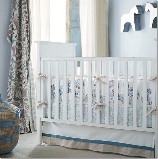 boy nursery room blue zebra