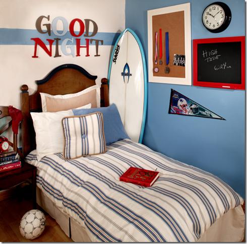 boys bedroom surf theme