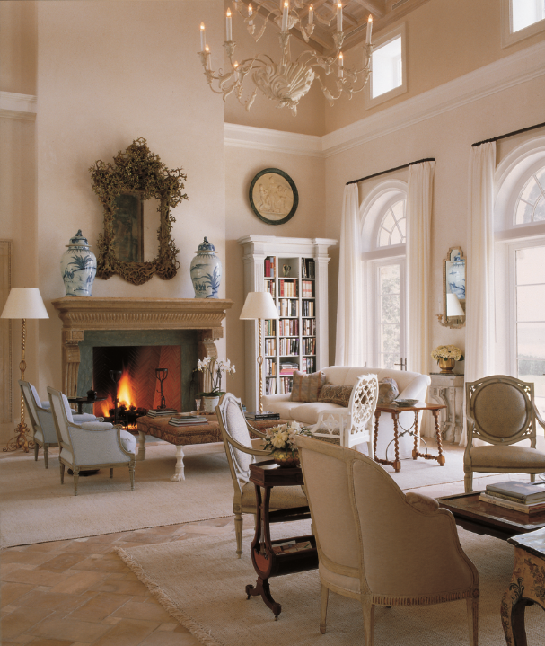 Interview with interior designer bunny williams for Formal living room