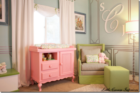 Celebrity Nursery Room For Baby