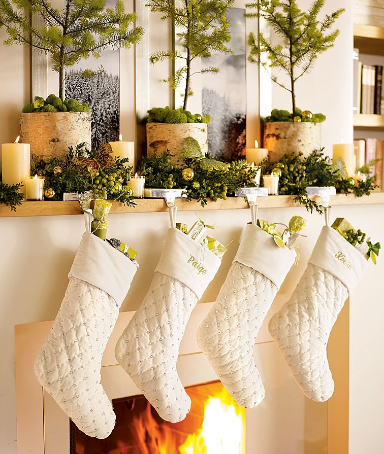 Holiday Decor Ideas For Decorating The Mantel For