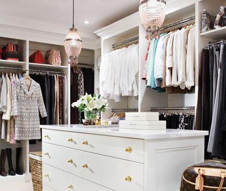 Getting your closet organized is also an important task as we go into spring and here are a few tips to help you get started
