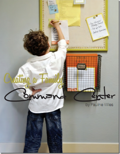 creating a family command center communication