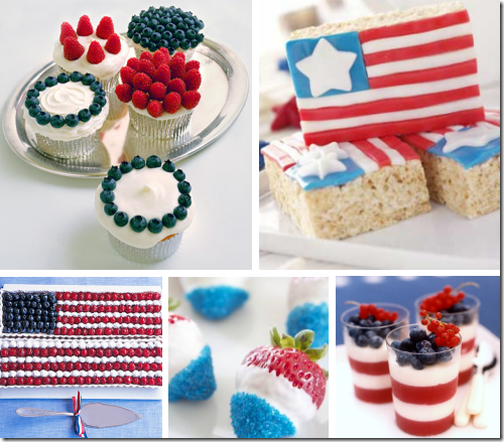 Cute 4th of july decorating ideas simplified bee for Fourth of july party dessert ideas