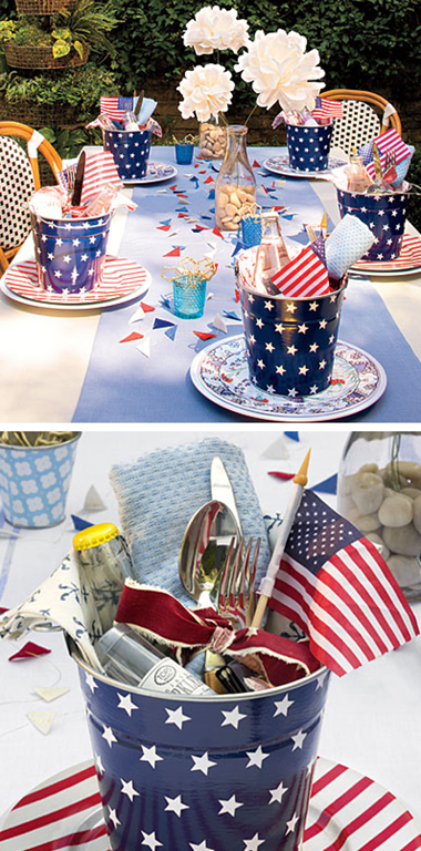 Cute 4th of July Decorating Ideas - Simplified Bee