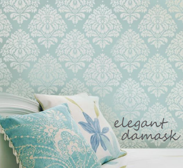 Cutting edge stencils giveaway simplified bee - Stencil patterns for walls ...