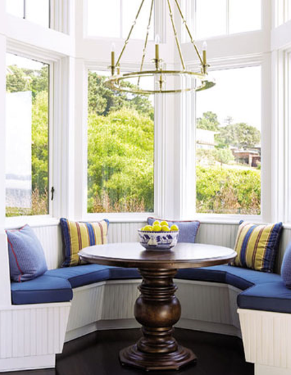 Designer Breakfast Nook Nautical House Beautiful