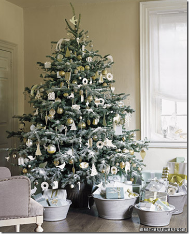 designer christmas tree how to white - Designer Christmas Decorations