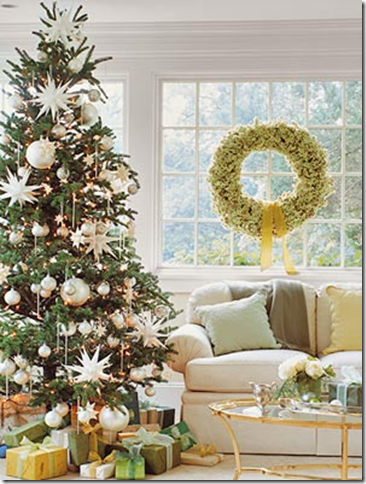 how to decorate a christmas tree with a designer touch simplified bee. Black Bedroom Furniture Sets. Home Design Ideas