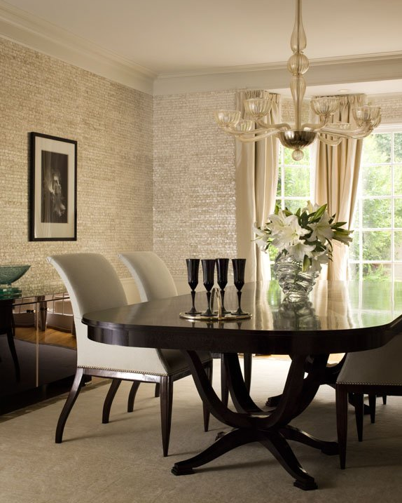 Designer Dining Rooms And Decorating Tips