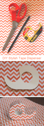 diy_stylish_tape_dispenser