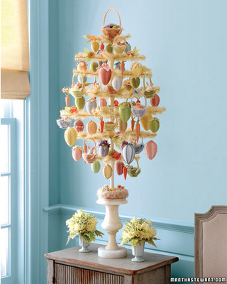 An Easter Tree Is A Delightful Way To Decorate Buffet Console Or Dining Table This Spring The Branches Of By Martha Stewart Features Egg And