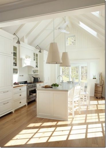 eco-friendly white designer kitchen