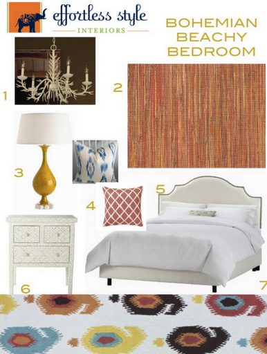 effortless style bedroom design inspiration board