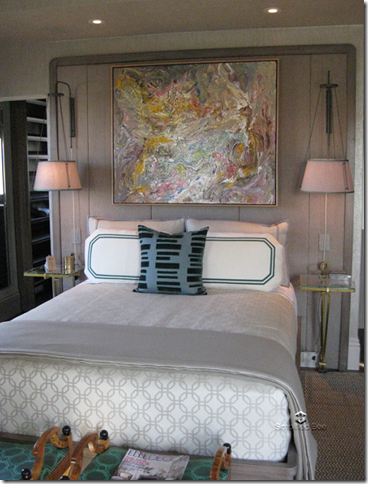 elle decor showhouse Jay Jeffers Master Bedroom