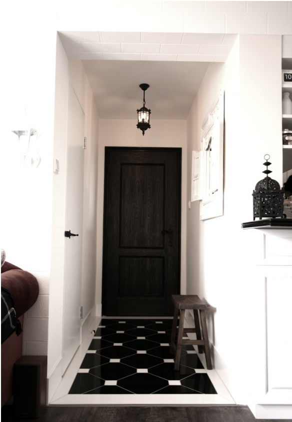 Welcome home the beautifully organized entryway for Foyer design ideas india