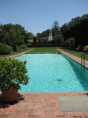 A summer walk through filoli gardens simplified bee for Filoli garden pool